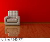 Купить «Кожаное кресло», иллюстрация № 545771 (c) Ильин Сергей / Фотобанк Лори