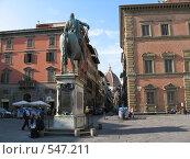 Италия, площадь во Флоренции (2008 год). Редакционное фото, фотограф Anna Marklund / Фотобанк Лори