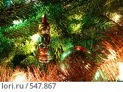 Рождественская композиция. Стоковое фото, фотограф Андрей Вуколов / Фотобанк Лори