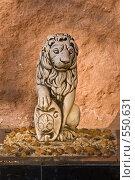 Купить «Геральдический лев», фото № 550631, снято 27 октября 2008 г. (c) Эдуард Межерицкий / Фотобанк Лори