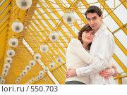 Купить «Влюбленная пара», фото № 550703, снято 17 сентября 2019 г. (c) Losevsky Pavel / Фотобанк Лори