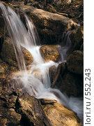 Горный ручей. Стоковое фото, фотограф Александр Зайцев / Фотобанк Лори