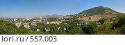 Панорама Пятигорска. Стоковое фото, фотограф Михаил Лазаренко / Фотобанк Лори