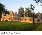 Купить «Царицыно, Москва, мост в парке», фото № 557035, снято 5 сентября 2008 г. (c) ИВА Афонская / Фотобанк Лори