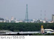Купить «Шуховская башня», фото № 559015, снято 15 июля 2006 г. (c) Александр Гаврилов / Фотобанк Лори