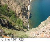 Скалистое побережье Байкала. Стоковое фото, фотограф Татьяна Сысоева / Фотобанк Лори