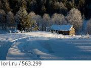 Домик Дедушки Мороза (2008 год). Редакционное фото, фотограф Александр Бобырь / Фотобанк Лори