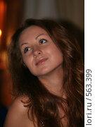Портрет девушки. Стоковое фото, фотограф Ehduard Khabirov / Фотобанк Лори