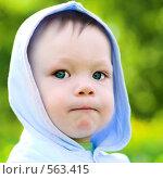 Купить «Портрет задумавшегося мальчика», фото № 563415, снято 29 мая 2008 г. (c) Бабенко Денис Юрьевич / Фотобанк Лори