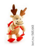 Купить «Веселый Рождественский Лось», фото № 565643, снято 16 ноября 2008 г. (c) Юрий Беляков / Фотобанк Лори