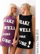 Купить «Две блондинки», фото № 566811, снято 21 октября 2008 г. (c) Михаил Мандрыгин / Фотобанк Лори