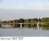 Купить «Володарский мост. Колпино», фото № 567707, снято 23 сентября 2008 г. (c) Алексей Алексеев / Фотобанк Лори