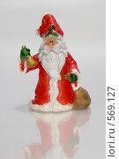 Дед Мороз (2008 год). Редакционное фото, фотограф Елена Элевтерова / Фотобанк Лори