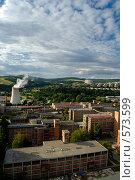 Чехия. г.Злин. Виды города (2008 год). Стоковое фото, фотограф Артем Абрамян / Фотобанк Лори