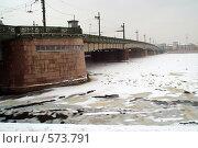 Литейный мост (2007 год). Стоковое фото, фотограф Омельян Светлана / Фотобанк Лори