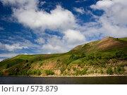 Купить «Великолепие холмистых берегов. На Нижней Каме.», эксклюзивное фото № 573879, снято 30 июля 2008 г. (c) Горшков Игорь / Фотобанк Лори