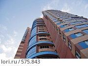 Купить «Жилой монолитный дом в Химках», фото № 575843, снято 21 ноября 2008 г. (c) Андрей Ерофеев / Фотобанк Лори