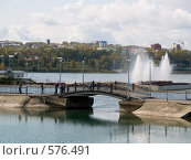Купить «Россия, Иркутск. Река Ангара», фото № 576491, снято 14 сентября 2008 г. (c) Andrey M / Фотобанк Лори