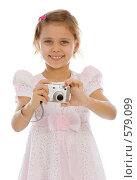 Купить «Девочка фотограф», фото № 579099, снято 18 ноября 2008 г. (c) Вадим Пономаренко / Фотобанк Лори