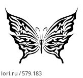 Купить «Бабочка», иллюстрация № 579183 (c) Сергей Лаврентьев / Фотобанк Лори