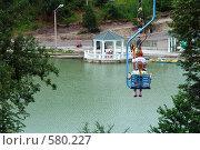 Купить «Нальчик. Полет над искусственным озером», фото № 580227, снято 22 июня 2008 г. (c) Александр Тараканов / Фотобанк Лори