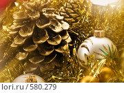 Купить «Новогодние игрушки», фото № 580279, снято 14 декабря 2005 г. (c) Кравецкий Геннадий / Фотобанк Лори