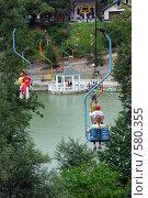 Купить «Нальчик. Полет над искусственным озером.», фото № 580355, снято 22 июня 2008 г. (c) Александр Тараканов / Фотобанк Лори