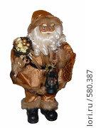 Купить «Дед Мороз загорелый на белом фоне», эксклюзивное фото № 580387, снято 28 октября 2008 г. (c) Svet / Фотобанк Лори