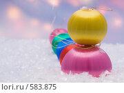 Новогодние шары. Стоковое фото, фотограф Titanchik / Фотобанк Лори