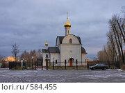 Купить «Церковь в Подольске», эксклюзивное фото № 584455, снято 21 ноября 2008 г. (c) Яна Королёва / Фотобанк Лори