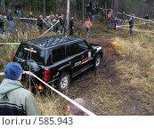 Триал на джипах в Карелии (2007 год). Редакционное фото, фотограф Сергей Карцов / Фотобанк Лори