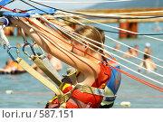 Купить «Отдых на пляже», фото № 587151, снято 16 июля 2008 г. (c) Мария Смирнова / Фотобанк Лори