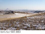 Купить «Забайкалье. Пейзаж близ города Краснокаменска», фото № 587883, снято 16 ноября 2008 г. (c) Julia Nelson / Фотобанк Лори