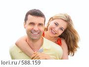 Купить «Влюбленная пара», фото № 588159, снято 16 ноября 2018 г. (c) Losevsky Pavel / Фотобанк Лори