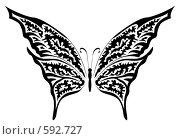 Купить «Бабочка», иллюстрация № 592727 (c) Сергей Лаврентьев / Фотобанк Лори