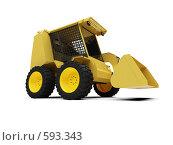 Купить «Желтый автопогрузчик», иллюстрация № 593343 (c) ИЛ / Фотобанк Лори