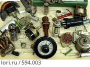 Старые радиодетали (2008 год). Редакционное фото, фотограф Александр Кралин / Фотобанк Лори