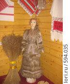 Купить «Льняная кукла», фото № 594035, снято 18 ноября 2008 г. (c) Терентьев Влад / Фотобанк Лори
