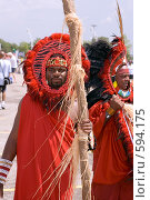 Купить «Участник парада Фестиваля Карибана», фото № 594175, снято 2 августа 2008 г. (c) Игорь Киселёв / Фотобанк Лори