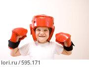 Купить «Девочка - боец», фото № 595171, снято 13 июля 2008 г. (c) Игорь Киселёв / Фотобанк Лори
