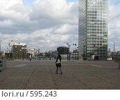 """Бизнес-район в Париже """"La Defence"""" (2008 год). Стоковое фото, фотограф Алла Виноградова / Фотобанк Лори"""