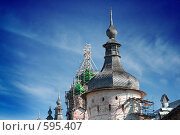 Ремонт Ростовского кремля (2008 год). Редакционное фото, фотограф Аврам / Фотобанк Лори