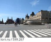 Купить «Москва. Красная площадь. Лобное место», эксклюзивное фото № 599267, снято 8 июня 2008 г. (c) lana1501 / Фотобанк Лори