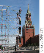 Купить «Москва. Красная площадь.», эксклюзивное фото № 599331, снято 8 июня 2008 г. (c) lana1501 / Фотобанк Лори