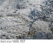Эолова Арфа зимой. Стоковое фото, фотограф Михаил Лазаренко / Фотобанк Лори