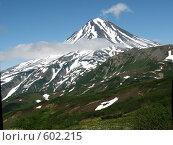 Купить «Камчатка, вулкан Вилючинский», фото № 602215, снято 18 июля 2007 г. (c) Легкобыт Николай / Фотобанк Лори