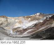 Купить «Камчатка, вулкан Мутновский», фото № 602231, снято 19 июля 2007 г. (c) Легкобыт Николай / Фотобанк Лори