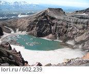 Купить «Камчатка, вулкан Горелый», фото № 602239, снято 20 июля 2007 г. (c) Легкобыт Николай / Фотобанк Лори