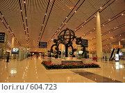 Купить «Столичный Международный аэропорт Пекина, Монумент Зивей Ченхенг», фото № 604723, снято 29 ноября 2008 г. (c) Алексей Еманов / Фотобанк Лори