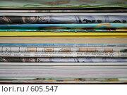 Купить «Газеты и журналы», фото № 605547, снято 8 декабря 2008 г. (c) Анна Лукина / Фотобанк Лори